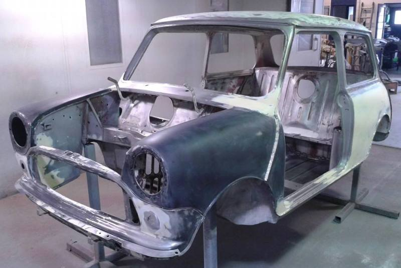 1964 Mini Cooper 970S - Race, Rally and Trackday cars